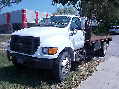 2001 FORD F650 78000 ORG MILES DIESEL READY TO WORK