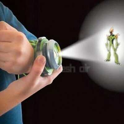 Ben 10 Gift for Child Kids Alien Force Omnitrix Illumintator Projector Watch Toy