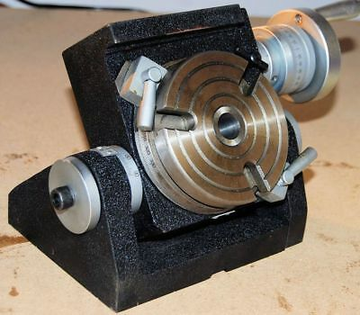 100 MM Tilting Rotary Table for Milling Machine from Chronos