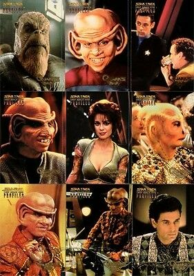 Star Trek  Trading Card DS9 Profiles Quark's Bar 1-9 (1:3 packs)