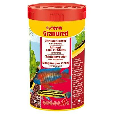 SERA GRANURED   Color enhancing granules for MALAWI CICHLIDS TANGANYIKA