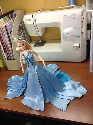 hand made barbie clothes, doll fashion, barbie fashion, gowns, costume.