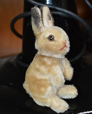 kleiner STEIFF Hase True Vintage Antikspielzeug rabbit Sammel Tiere animal old