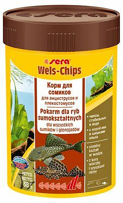 Sera  Wels Chips Chips for rasping catfish