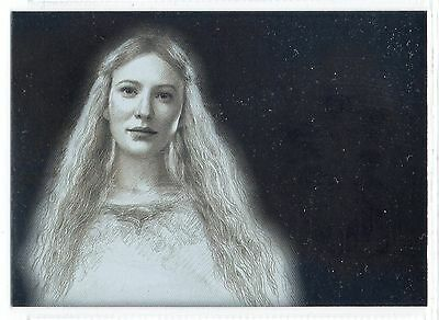 Lord of the Rings Masterpieces 2 (2008) Silver Foil Insert Card #2 / Galadriel