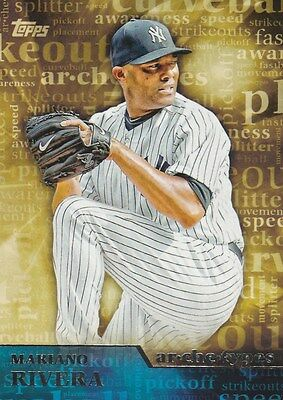 2015 TOPPS SERIES 1 MARIANO RIVERA P YANKEES ARCHETYPES #A-2