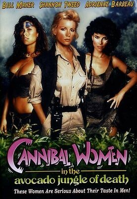 Cannibal Women in the Avocado Jungle of Death (DVD, 1989) Shannon Tweed