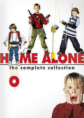 Home Alone - Complete Collection (DVD, 2008, 4-Disc Set)