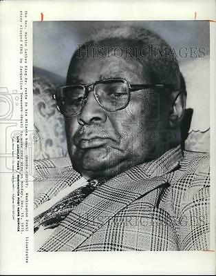 1975 Press Photo The Rev. Martin Luther King Sr. in his Atlanta Home - cvp31732