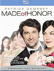 Made of Honor (Blu-ray Disc, 2008) NEW
