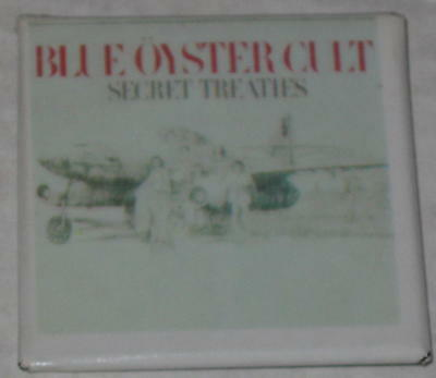 """Blue Oyster Cult Pin 2""""x2"""""""