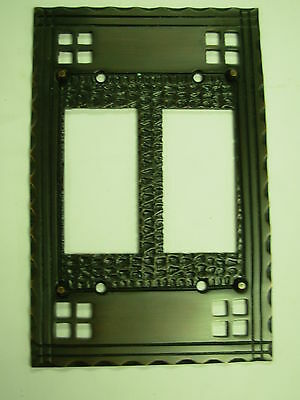 Double GFI Decora Pacifica Mission Switch Plate
