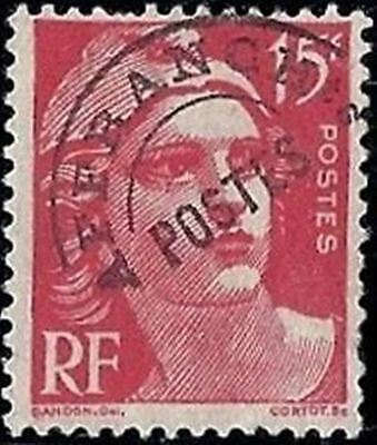 """FRANCE STAMP TIMBRE PREOBLITERE 104 """" MARIANNE 15F ROUGE """" NEUF xx TTB"""