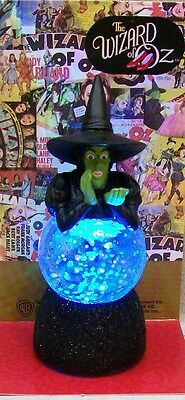 WIZARD OF OZ WICKED WITCH LIGHTED WATER GLOBE SPARKLER WG D5