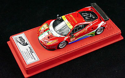 1/43 BBR FERRARI 458 ITALIA GT  #61 RED DELUXE LEATHER LIMITED 20 N MR