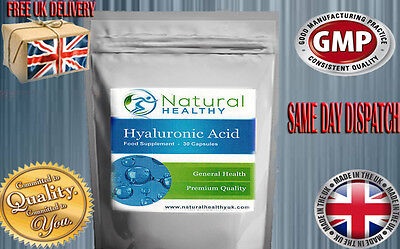 Hyaluronic Acid Pills Premium Quality Uk Manufactured General Health, Joint Care
