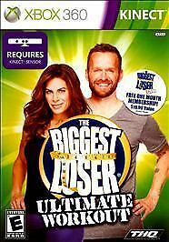 XBOX 360 KINECT BIGGEST LOSER ULTIMATE WORKOUT BRAND NEW VIDEO GAME