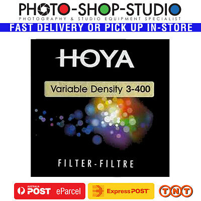 Hoya 82mm Variable Neutral Density ND3-400 Filter 1.5-9 Stop Reduction #H05557