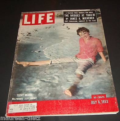 July 6, 1953 LIFE Magazine. Complete. old ads Presidental Graves FREE SHIPPING 7