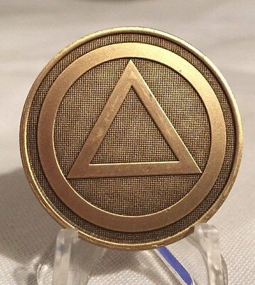 Circle Triangle Pain Is Necessary Suffering Is Optional Medallion Chip Coin AA