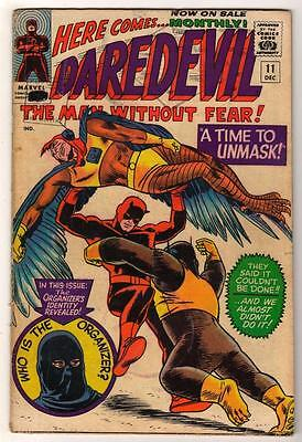 MARVEL Comics DAREDEVIL CENT COPY VOL 1 Issue 11 VG+