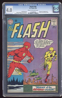 DC Comics CGC 4.0 FLASH  #139  1st REVERSED  superman JLA  batman
