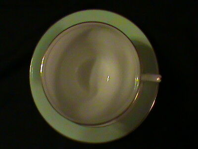 Taylor and Kent Cup and Saucer Set Bone China England collectible gift