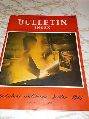 APRIL 1943 THE BULLETIN INDEX PITTSBURGH'S MAGAZINE BUSINESS OF WAR