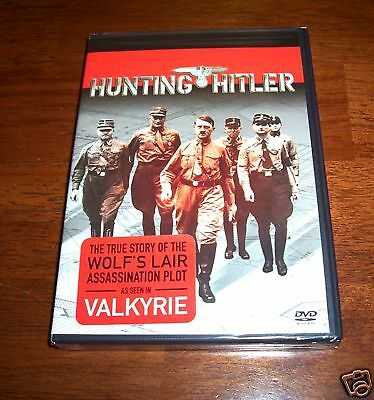 HITLER ASSASSINATION PLOT Nazi Leader WWII Germany History Channel DVD NEW