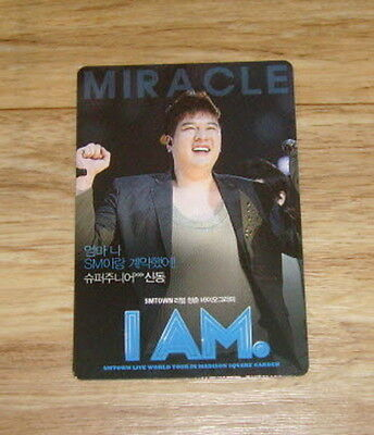 Super Junior I AM ShinDong Photo Card Limited SMTown Movie Showcase Official