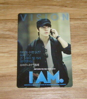 Super Junior I AM Donghae Photo Card Limited SMTown Movie Showcase Official
