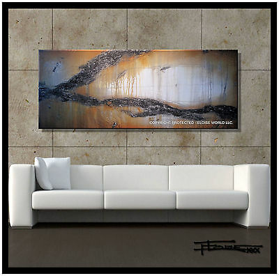 ABSTRACT MODERN CANVAS PAINTING CONTEMPORARY WALL ART.....60 inch....ELOISExxx