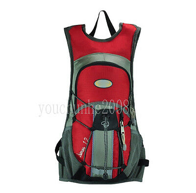 CYCLING BICYCLE HYDRATION WATER PACK BAG BACKPACK BIKE SPORTS RED-35288
