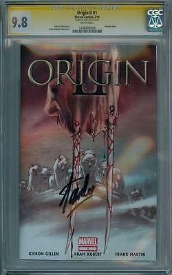 Origin Ii #1 Cgc 9.8 Signature Series Signed Stan Lee Wolverine Marvel Comics