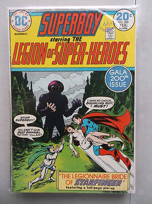 Superboy Vol. 1 (1949-1979) #200 VF-