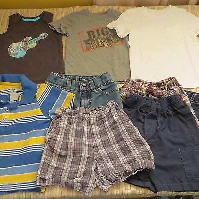 LARGE LOT OF 10 TODDLER BOY'S  CLOTHES * SIZE 2t * * SOME NEW WITH TAGS!!