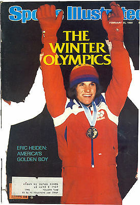 February 25 1980 Eric Heiden Speed Skating Winter Olympics Sports Illustrated