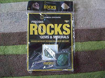 National Geographic Precious Rocks Gems & Minerals Magazine Issue 8 Fuchsite
