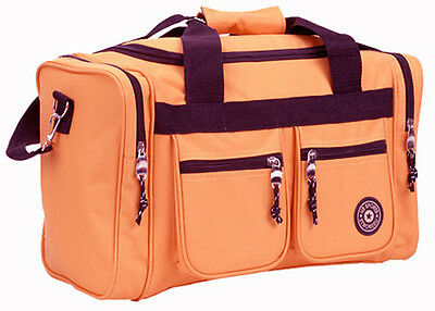 "Rockland Bel-Air 18"" Carry-On Tote Duffle Bag - Yellow"