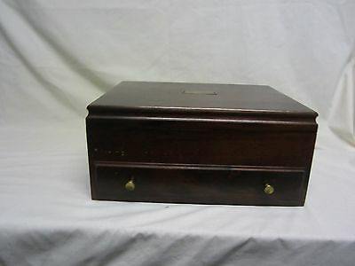 SILVERWARE STERLING FLATWARE BOX DRAWER OLD CHEST ONLY