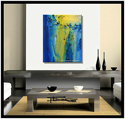 MODERN ABSTRACT CANVAS PAINTING CONTEMPORARY WALL ARTWORK..ELOISExxx