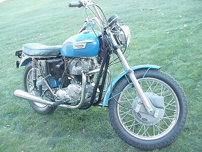 Triumph : Tiger 1972 triumph 650 tiger nicely redone ready to ride