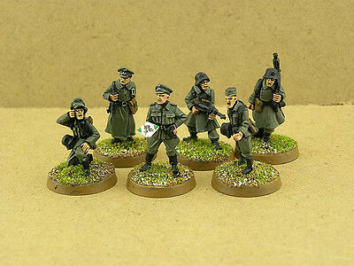 28mm painted German Grenadier Command Squad G001