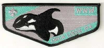Orca OA Lodge 194 Older Mint Scout FIRST Flap Patch