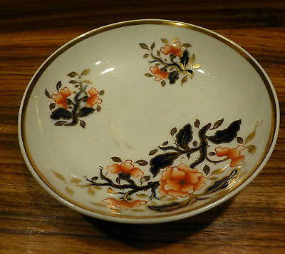 """Great antique numbered English Imari style small bowl Mintons ? 6.5"""""""