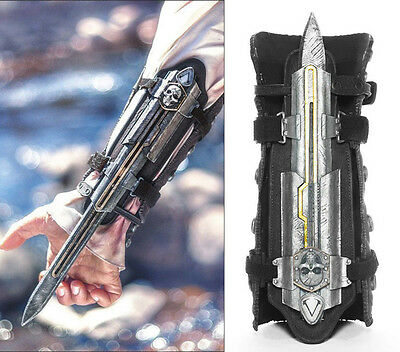 Gift Assassin's Creed 4 IV Edward Cosplay Life-Size Hidden Blade Gauntlets Prop