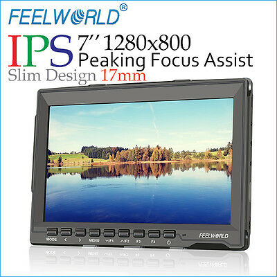 Feelworld FW759 7 Inches Ultra HD IPS 1280x800 FieldMonitor HDMI DJI FPV USA