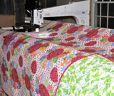 Longarm Machine Quilting SERVICES Crib 45 x 60  Batting FREE 1 WK turnaround