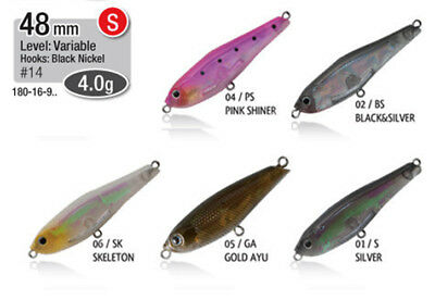 Esca Artificiale Rapture Trout Fry  Minnow Pesca Spinning Black Bass Trota  RN
