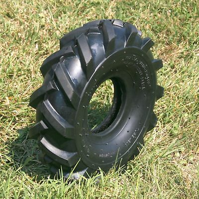 Set of (2) 11 X 4.00 - 4, 2-Ply Tractor Tire -  Premium Tiller / Trencher